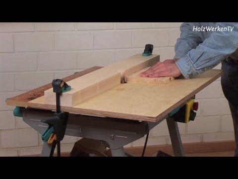 Dieser Frästisch kostet nicht viel! Eine fantastische Idee die Workmate oder den Wolfcraft Tisch weiter auszubauen.