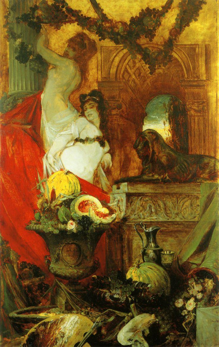 Hans Makart, Allegory of Lust for Life