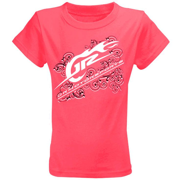 JR Motorsports Youth Girls T-Shirt - Pink - $10.44