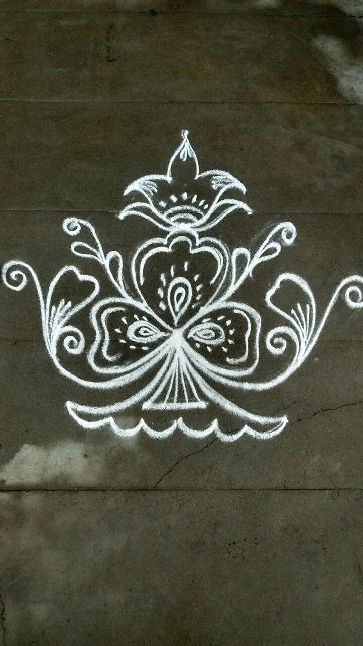 Simple Rangoli Designs Pin By Vennila Venkatachalapathy On Kolam Pinterest Simple Rangoli