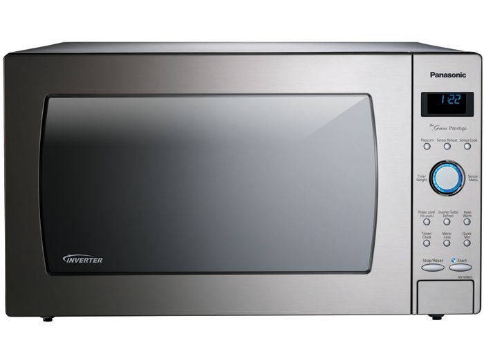 Genius Prestige Countertop Built In Microwave Oven With Inverter Technology Stainless