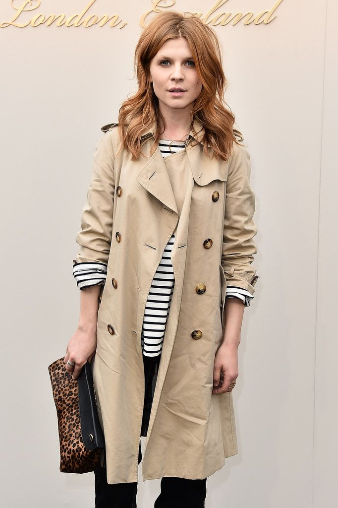Burberry Womenswear February 2016 Show - Clemence Poesy