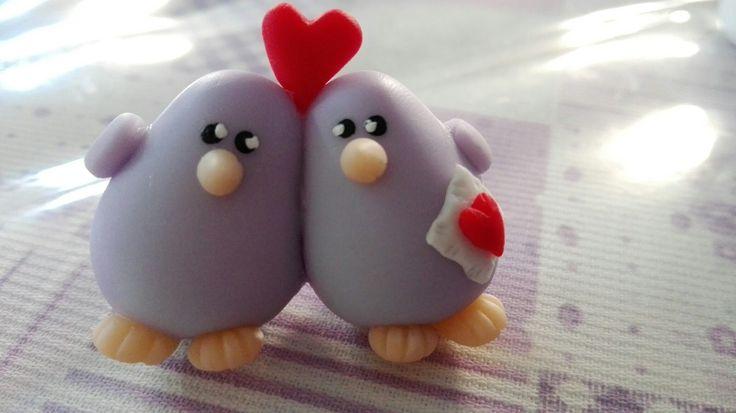 Dos pajaritos enamorados
