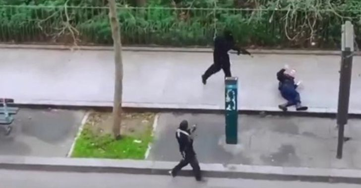 This footage of the Paris Terror Attack has been restricted or taken down from several websites.