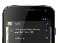 Google Maps syncs searches between your phone and PC Google Maps is now able to sync your search results from your PC onto your Android phone so you can quickly find recently searched places.