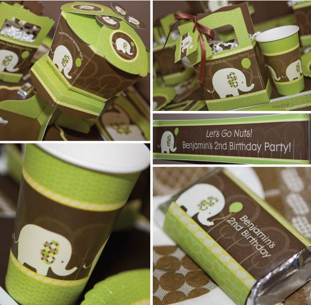 Elephant Theme 3rd Birthday Party: 24 Best Images About Kids Parties--Animal Crackers On