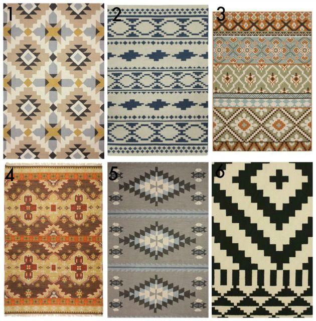 Native American Rugs In Santa Fe: Domestic Imperfection DIY