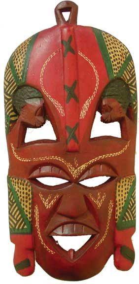 "11-12"" Maasai Mask"