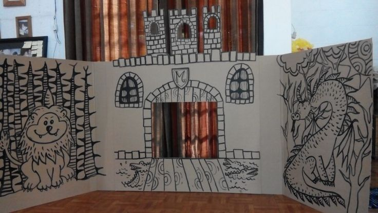 Paperpuppet Theater diy