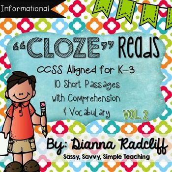 Cloze Reading is reading closure practice required when readers fill in the blanks left in text. Readers use their knowledge and prior experiences they have.