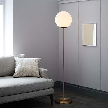 Globe Floor Lamp #westelm