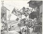 La battaglia delle immagini, 1743, incisione, collezione privata