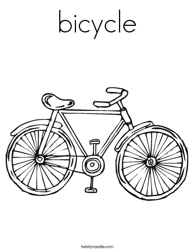 bicycle adult coloring page - Google Search