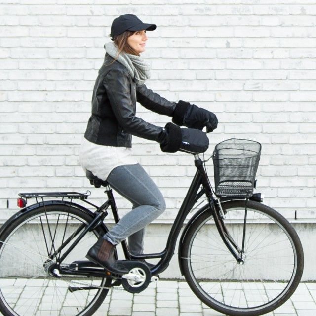 Bicycle Gloves - City Model - Shearling by Scandinavian Weathergoods - Nordic Design Collective