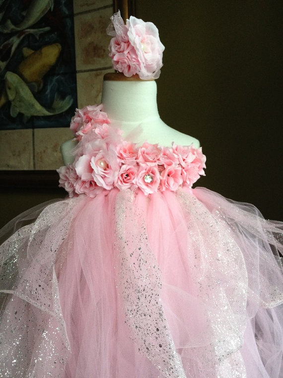 Elegant+Flower+TuTu+dressStretchySingle+StrapDaily+by+bbabyangel,+$44.95