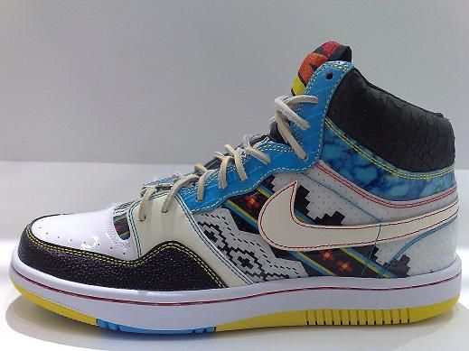 Circa 1999 #Nike Native court force highs.  Only released in Asia #kicks #sneakers