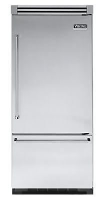 "36"" STAINLESS STEEL Refrigerator/Freezer - Viking Range- love all of our Viking appliances"