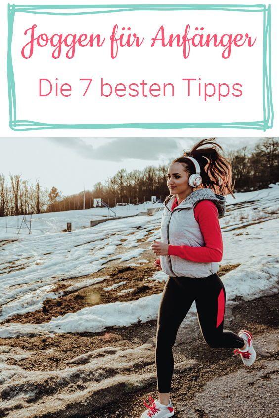 Joggen für Anfänger: 7 Tipps zum Durchstarten – WUNDERWEIB – Das Magazin
