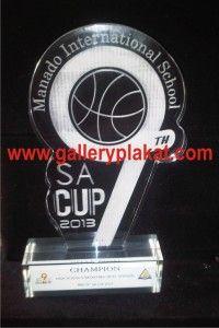 plakat akrilik basket piala SA