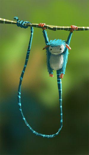 Long Tail Creature, Goro Fujita