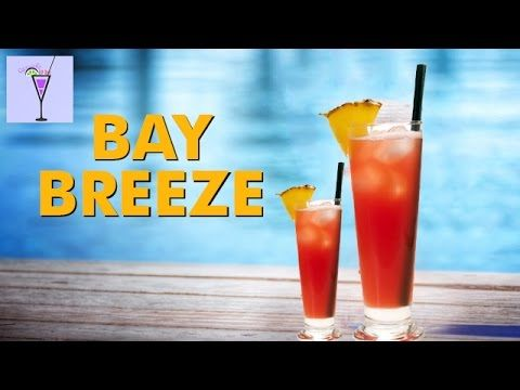 How To Make BAY BREEZE Cocktail Drink Recipe | Vodka Based Cocktail Drink Recipes | Straight Up Bar - http://2lazy4cook.com/how-to-make-bay-breeze-cocktail-drink-recipe-vodka-based-cocktail-drink-recipes-straight-up-bar/