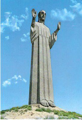 Cristo del Otero (jesus) of Palencia, Spain