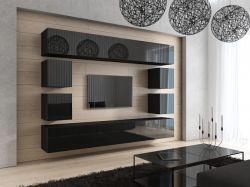 Modern nappali komplett szekrénysor