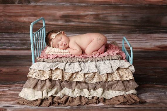 Newborn Photo Prop Bed Victorian Style by dreamcometruebeds