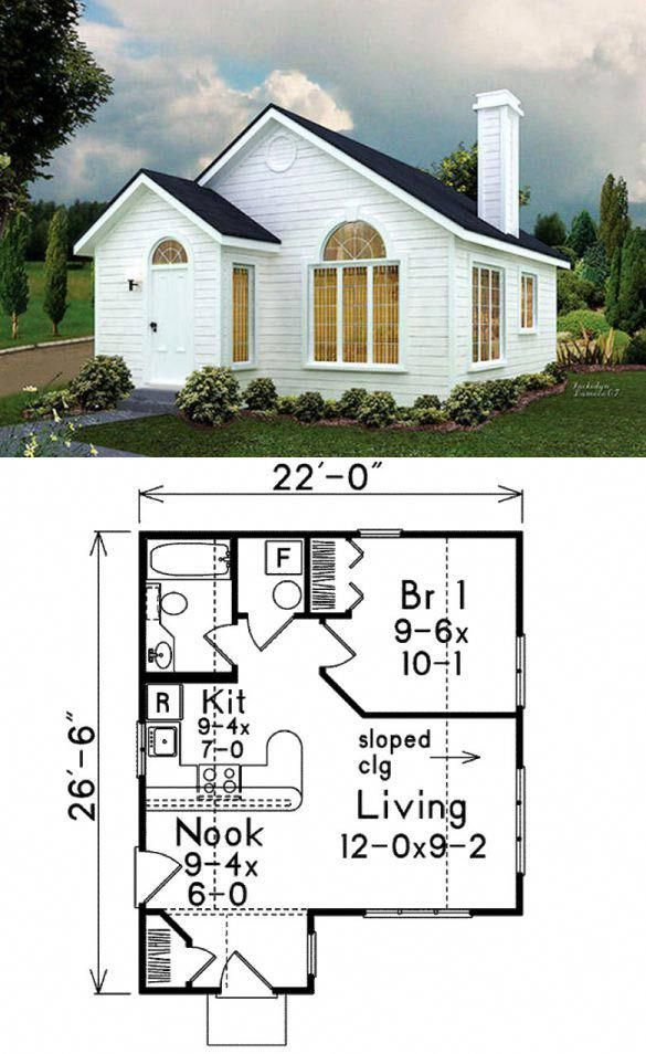 Aspen Tiny House Floor Plan For Building Your Dream Home Without Spending A Fortune Your Tiny Hou Tiny House Floor Plans Cottage House Plans Tiny House Design