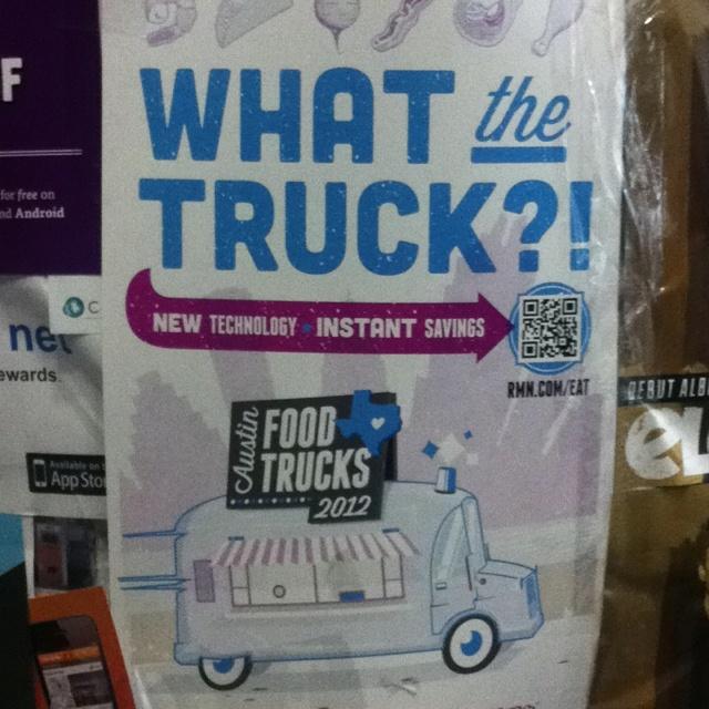 Qr Code Packaging Food Truck