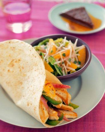 Chicken Fajita Recipe - Fajitas with a Special Marinade: Chicken Fajita Recipe