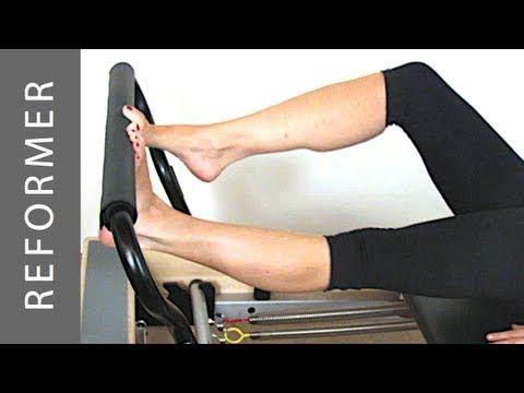 Reformer Footwork - Esercizi di Riscaldamento - YouTube