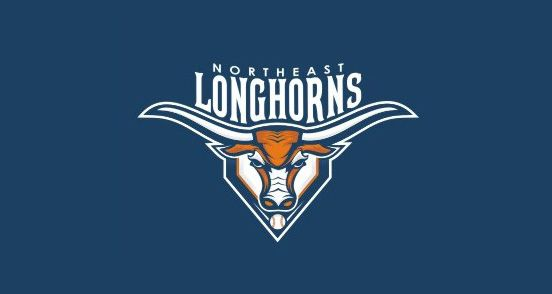 Northeast Longhorns | Logo Design | The Design Inspiration