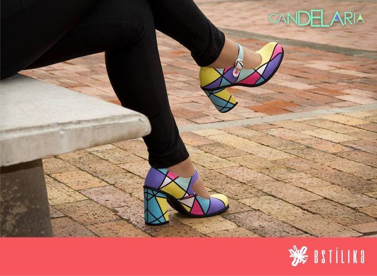Te gustan nuestros zapatos de tacón Estilika? Candelaria, ahora puedes visitarnos en nuestro sitio https://www.facebook.com/estilika/   Estílika #mujer #tendencia #moda #zapatos #diseñoindependiente #talentocolombiano