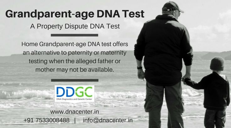 Grandparent-age DNA test - DNA Diagnostics and Genetic Center
