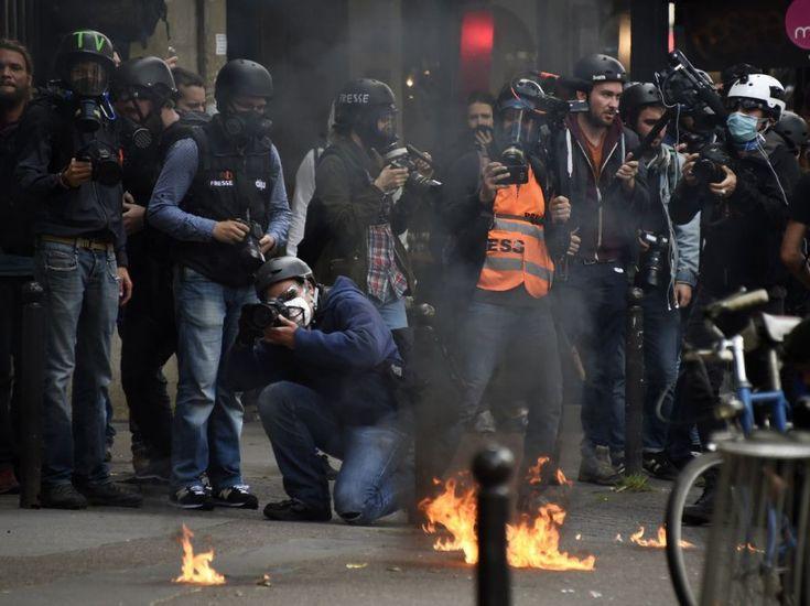PHOTOS. Loi Travail : incidents lors de la manifestation du 14 juin