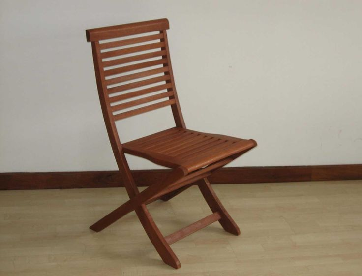 Colorful Wooden Folding Chairs