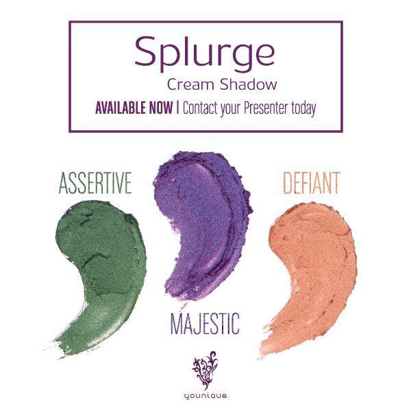 New cream shadow colors