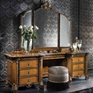 antique makeup vanity table
