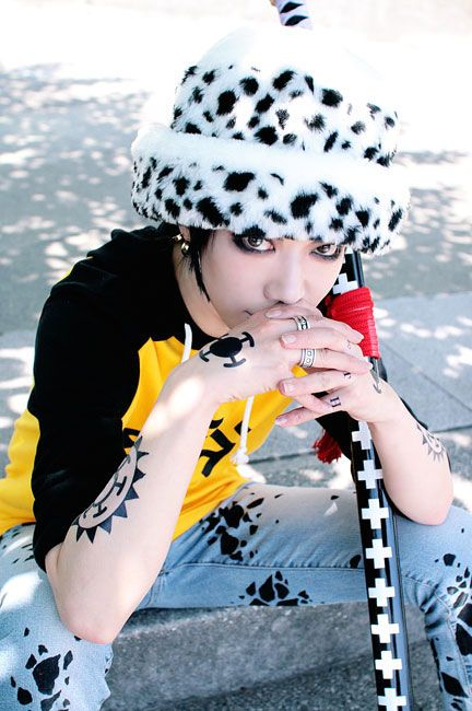Love One Piece cosplayers!! #onepiece #law #cosplay