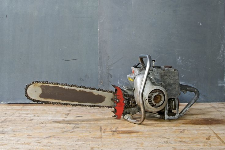 Machine Age Chainsaw Bradley 360 20th Century Vintage