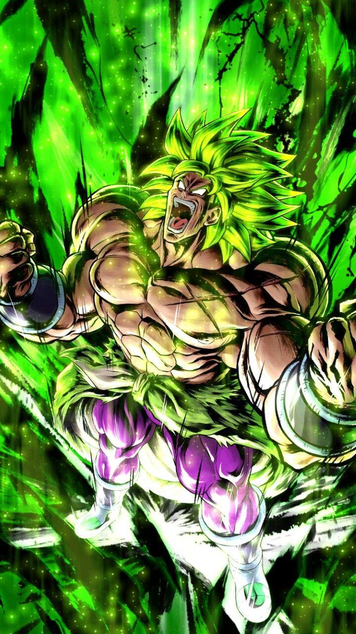 Full Power Broly Legendary Super Saiyan Form Dragon Ball