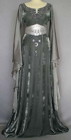 ... Clothing | Wiccan -- Clothing for a Goddess | Medieval Irish Dresses