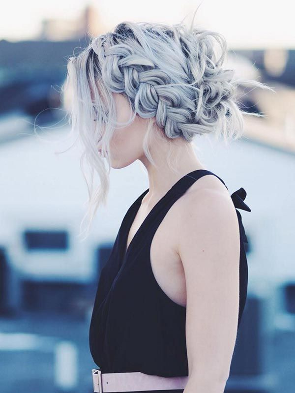 Trendiest Braided Hairstyles 2016: Loose Dutch Braid Updo  #braids #hair #braidedhair