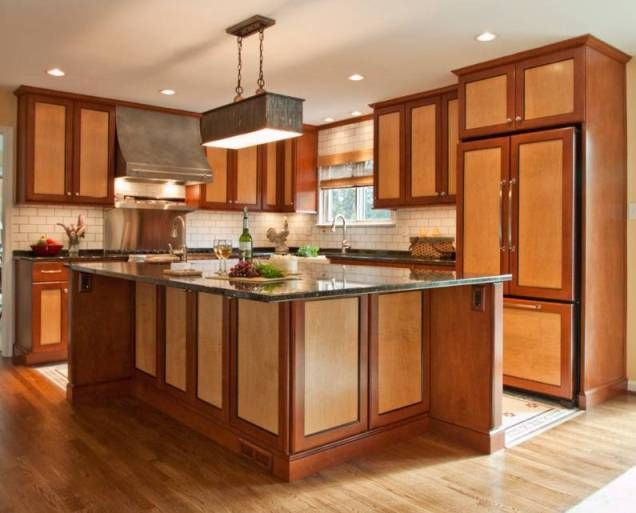 Beautiful two tone kitchen cabinets wood kitchen - Two tone kitchen cabinets ...