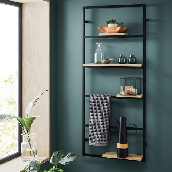 Noir Frame Shelving Unit Bathstore Shelves Shelving Unit Home Room Design