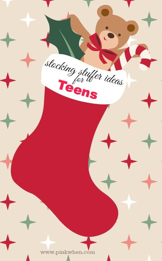 Stocking Stuffers For Teenagers Pinkwhen Christmas Stocking Stuffers Stocking Stuffers For Teens Stocking Stuffers For Teenagers