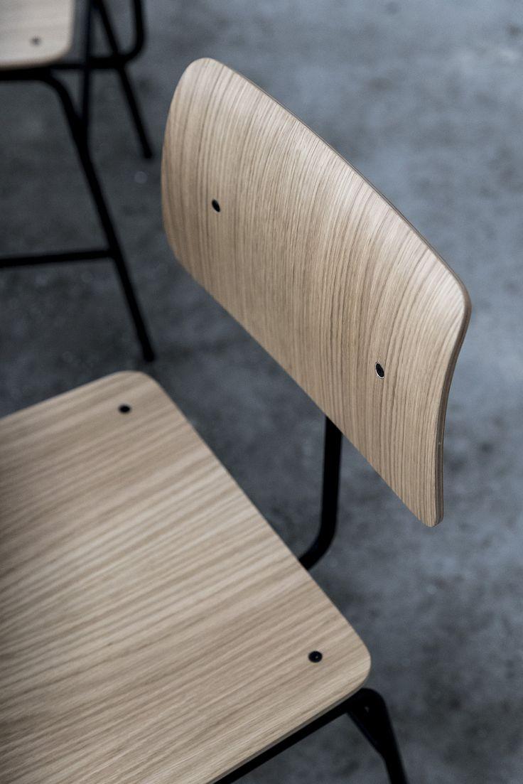 Black steel - matt lacquered oak, what is not to like // Bent Hansen