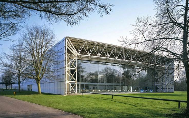 Much closer to home but nonetheless a wonderful place to expand the mind. I find the Sainsbury Centre for the Visual Arts such a calming place to be - Norman Fosters clever building design?
