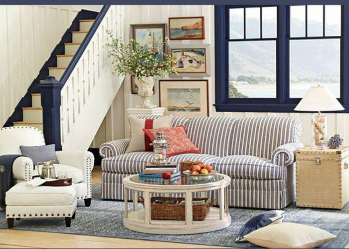 1001 Ideen Fur Moderne Wohnzimmer Landhausstil Einrichtung Landhausstil Wohnzimmer Wohnzimmer Ideen Modern Blaues Wohnzimmer